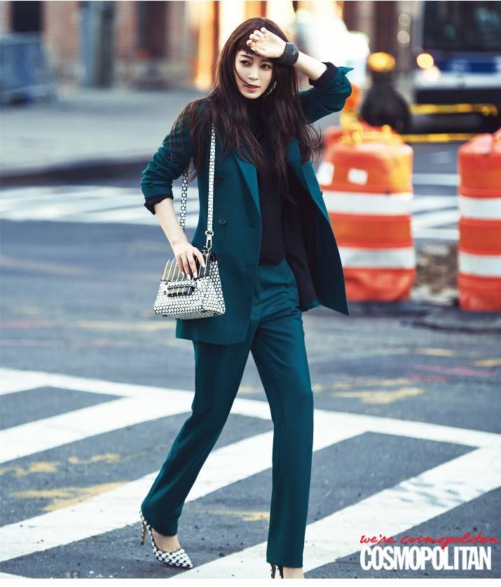 Han Ye Seul - Cosmopolitan Magazine November Issue '14