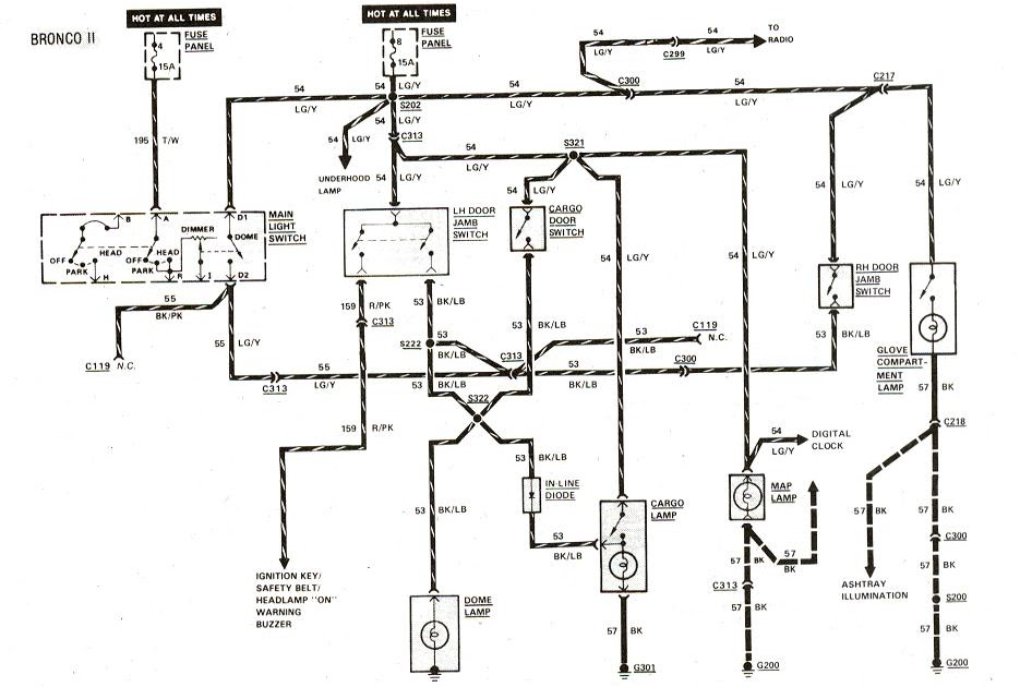 84 Bronco Alternator Wiring Diagram