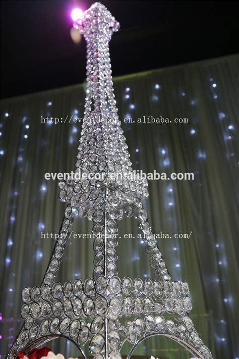 New Product ! Eiffel Tower Centerpieces,Crystal Candle