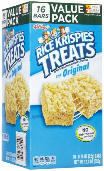Calories in Kellogg's Rice krispies treats - the original ...