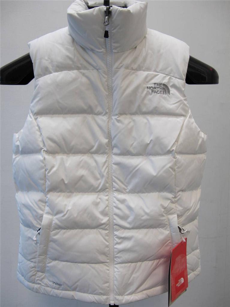 North face black puffer vest womens white suit ...