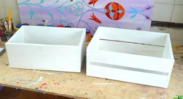 Prateleiras com caixote de feira 014