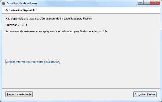 firefox 25.0.1