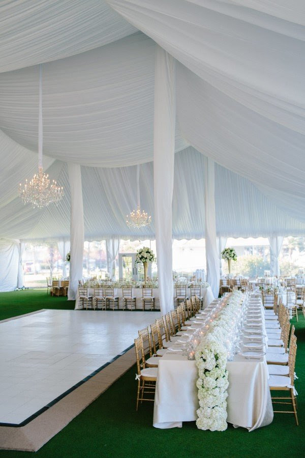 Romantic All White Tented Wedding Reception Ideas For 2019 Trends