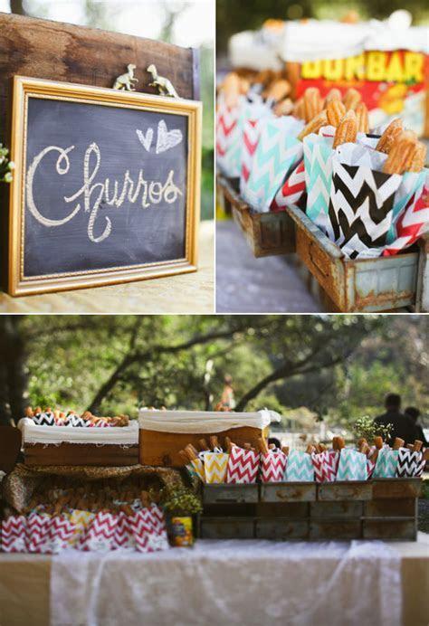 Churro Dessert Bar   Event Ideas   Pinterest   Churro and