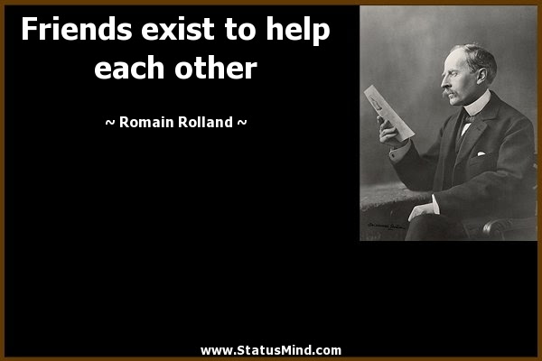 Quote About Friends Helping Each Other