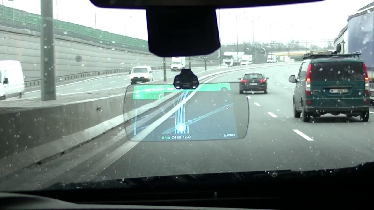 Head Up Display Z Aplikacja Google Maps Youtube