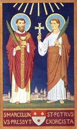 IMG ST. MARCELLINUS and Peter