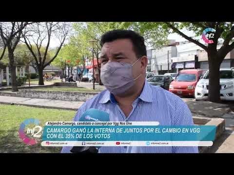 Camargo ganador de Juntos por el Cambio en VGG