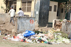 Man Gives Birth to Garbage by firoze shakir photographerno1