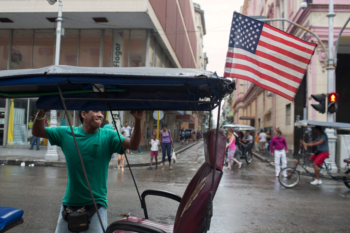 On average, June is Havana's most rainy month.