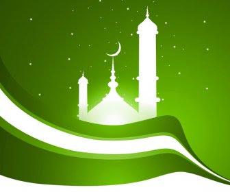 Download 7100 Background Masjid Hijau HD Terbaru