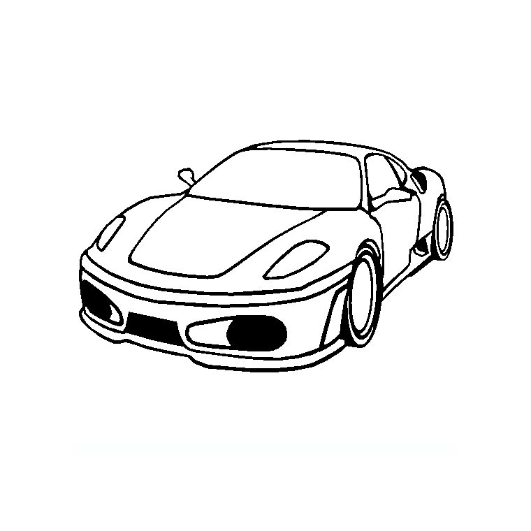 Ferrari Coloring Pages 9 22022 Disney Coloring Book Res 760x760