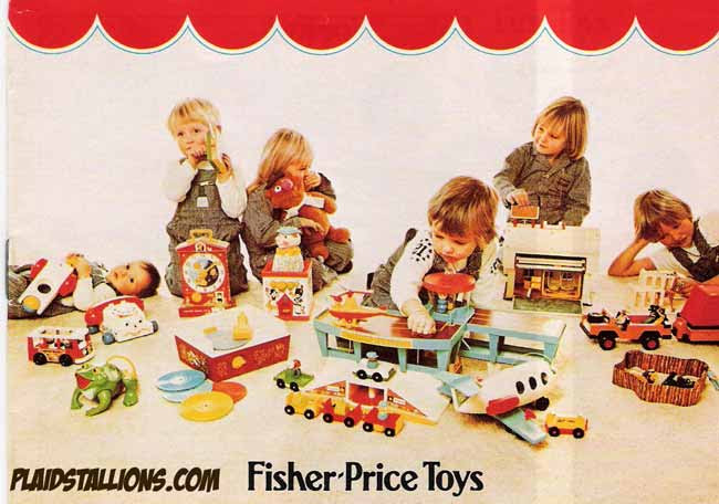 fisher price toy catalog