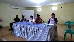 Rapat KPM (keluarga penerima manfaat) program rumah tidak layak huni (RUTILAHU), di desa Sukamulya