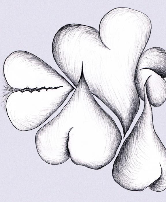 Mending a Broken Heart Drawing