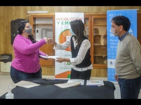 Entregaron Aportes Económicos a Jóvenes Emprendedores