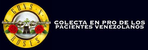 Colecta en pro de los pacientes venezolanos