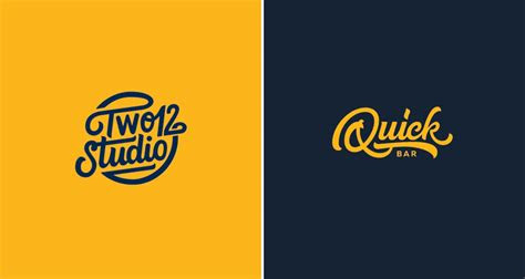 smooth clean animations  beautiful hand lettered logos