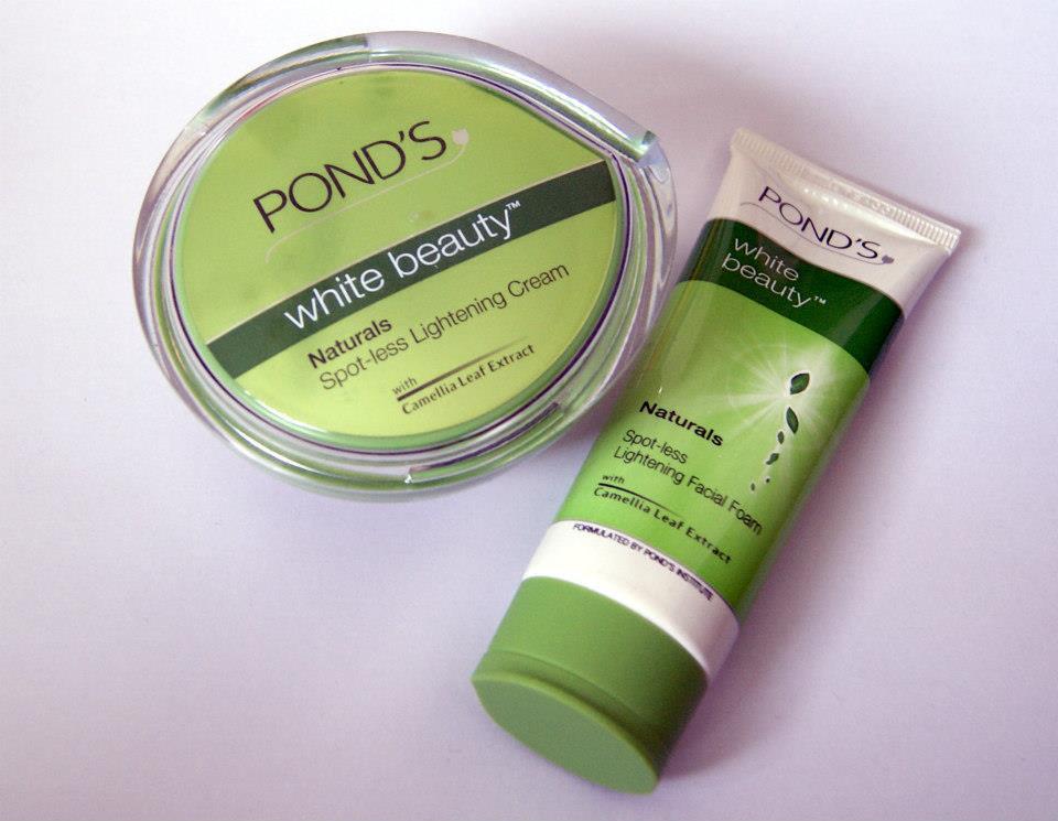 Ponds White Beauty Naturals Spot-less Lightening Cream