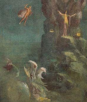 Περσεύς Ανδρομέδα και δράκων