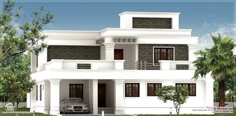 flat roof homes designs flat roof villa exterior