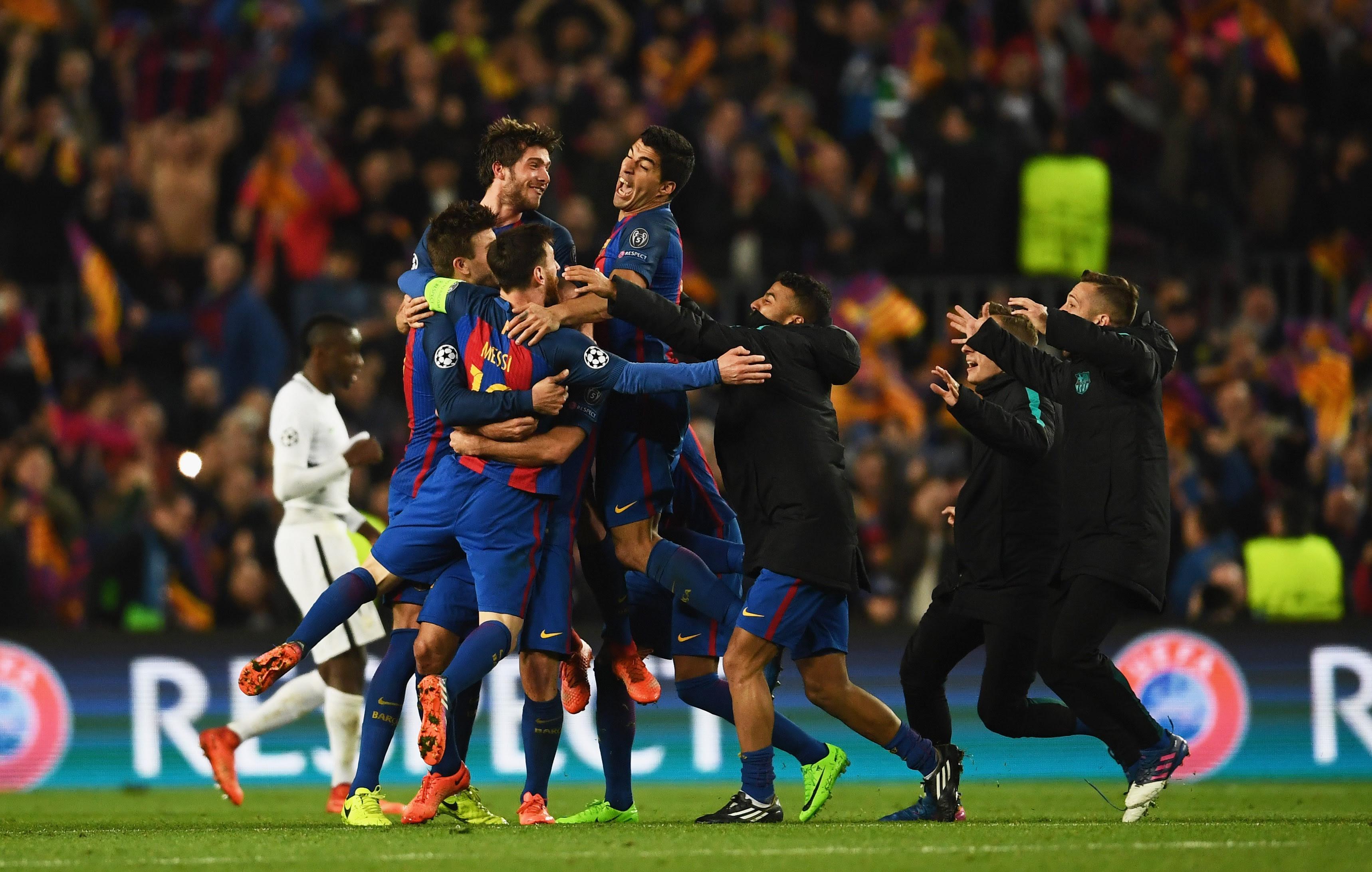 Barcelona 6-1 PSG: Player Ratings