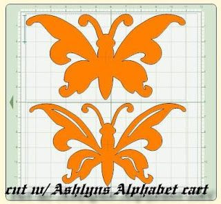 Butterfly For A Girls Room