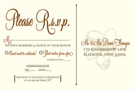 rsvp wedding template wording   Wedding Design   Pinterest