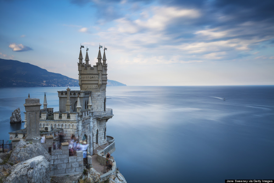 huffpostworld: Who hasn't had dreams of castles in the sky? Where the unexpected can happen. Where people have magic and adventures. Dream on!