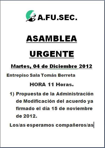 Asamblea 041212