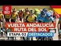 Vídeo resumen de la 2ª etapa de la Vuelta Andalucía 2020