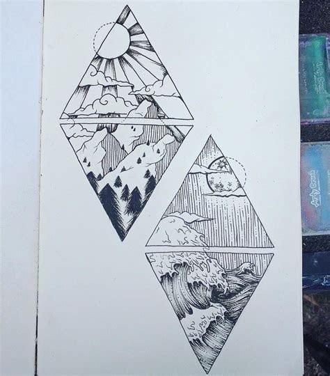 kim tattoo  deep   ocean  high   mountain