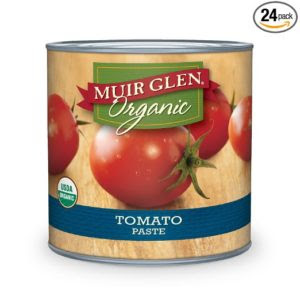 Muir Glen Organic Tomato Paste, 6-Ounce Cans (Pack of 24 ...