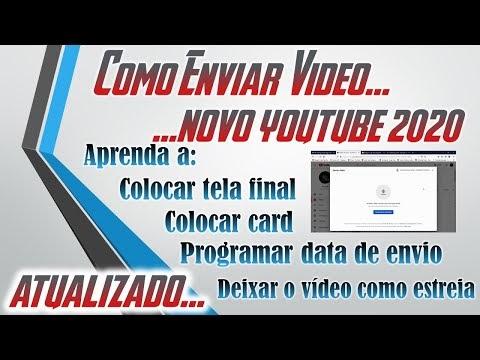 Aprenda a Enviar corretamente os vídeos do Youtube com o novo método Youtube Atualizado 2020