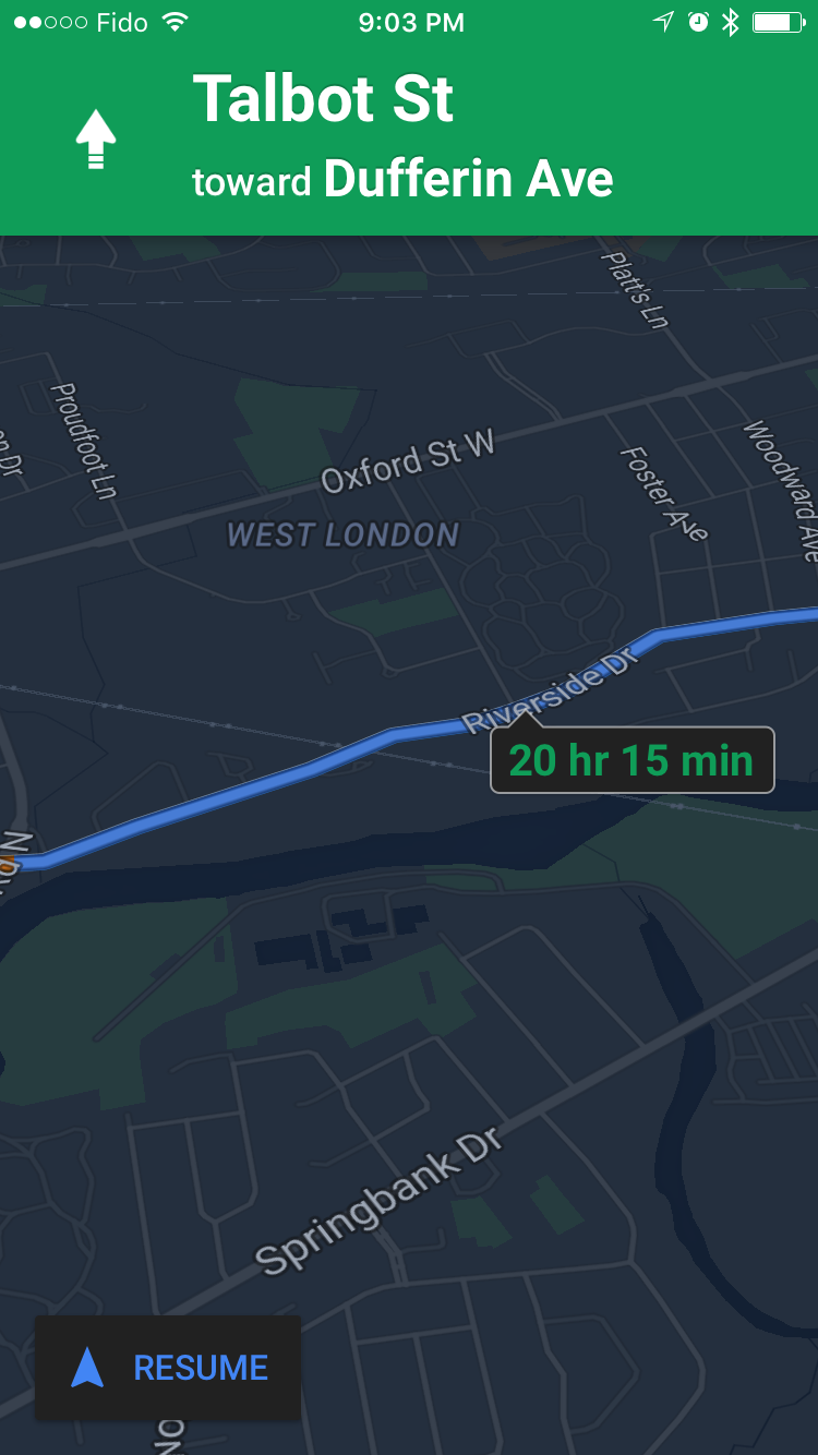 Google Maps App Gets Night Mode Ability To Label Places