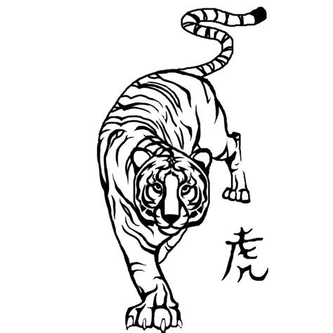popular tiger tattoo designs