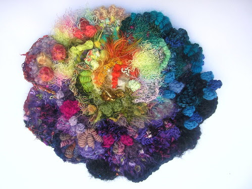 freeform crochet scrumble