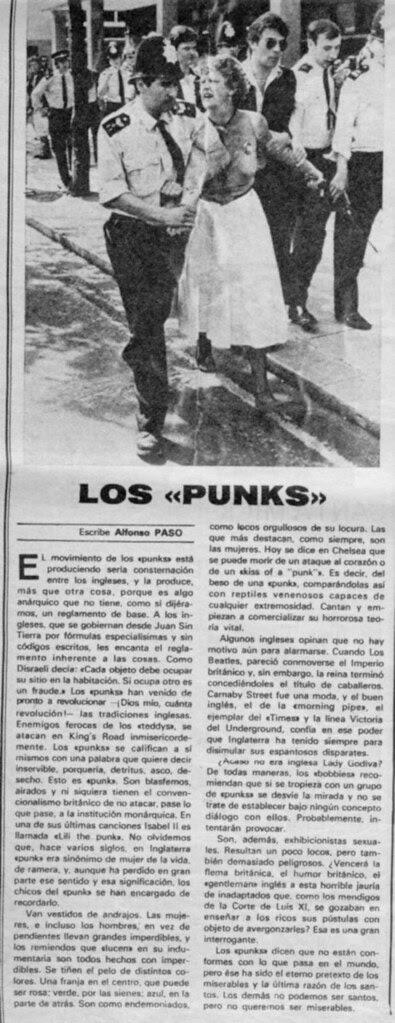 los punks