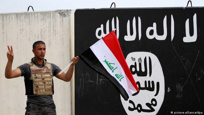 Irak / IS / Islamischer Staat / Irakischer Soldat (picture-allia   nce/dpa)