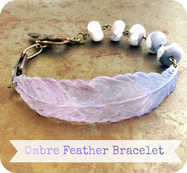 Humblebeads Blog: Ombre Feather Bracelet Free Project