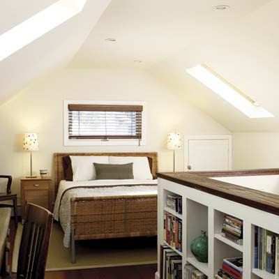 An Attic Master Bedroom   From Attic to Bedroom, with Help from ...