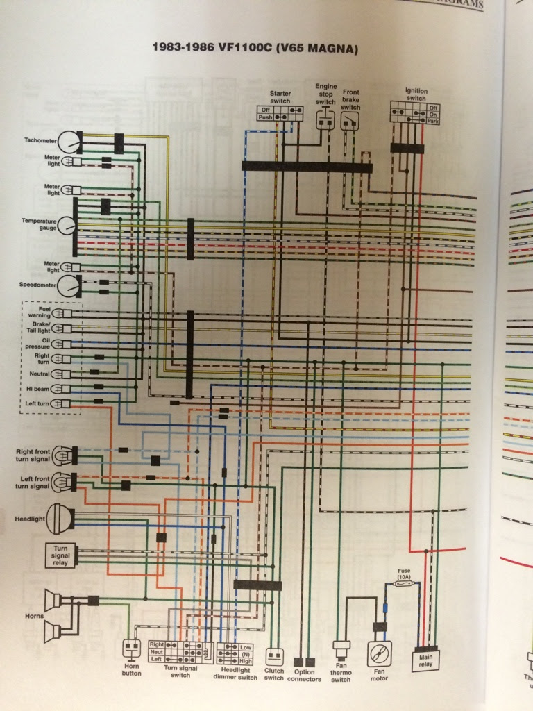 Anyone Have 85 V65 Wiring Diagram V4musclebike Com
