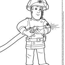 Coloriages Sam Le Pompier Frhellokidscom