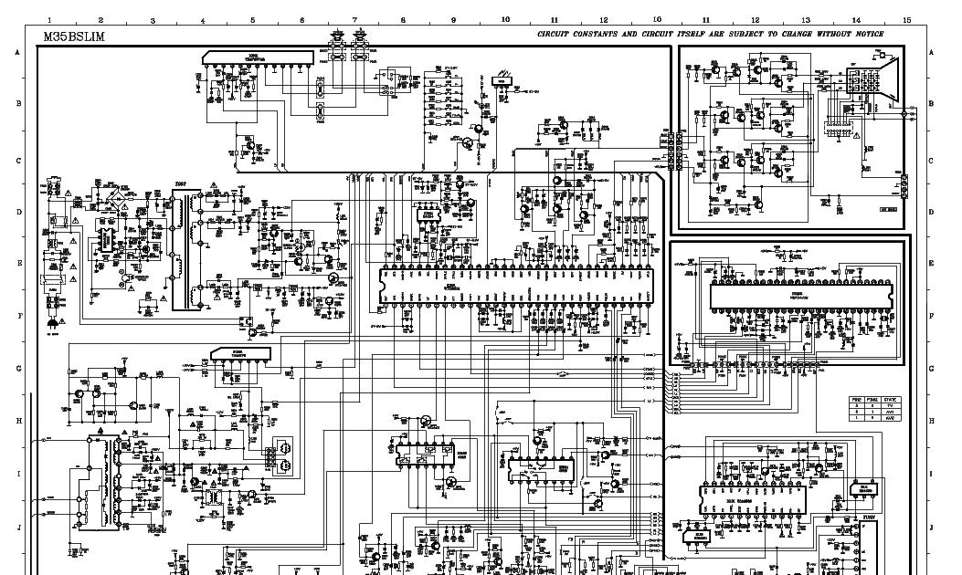 Tcl Crt Tv Schematic Diagram