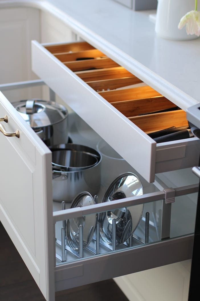 Kitchen Cabinet Drawer Options | HealthyCabinetmakers.com