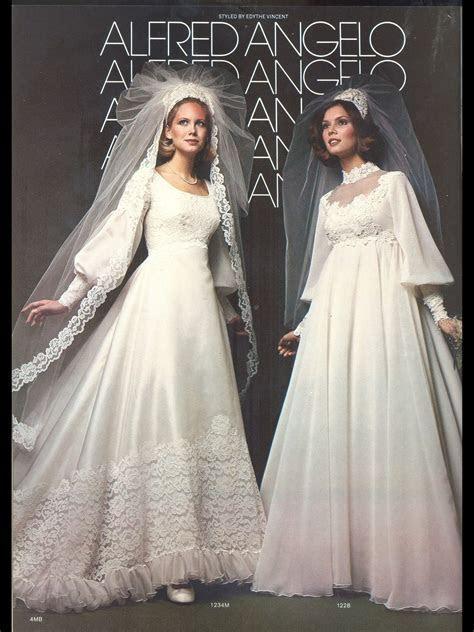 Vintage Alfred Angelo   1980's wedding dress