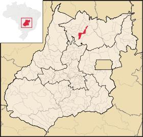 Localização de Campinorte