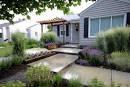 Modern Front Garden Ideas   Garden Ideas Picture