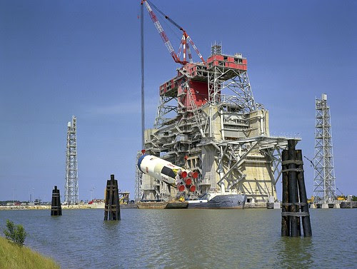 Archive: Test Stands at Stennis Space Center, 1960s (NASA, Space Launch System, 04/29/13) by NASA's Marshall Space Flight Center